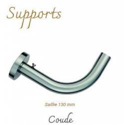 Support Coude Nickel Mat...