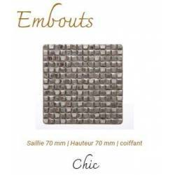 Embout Chic  Nickel Mat...