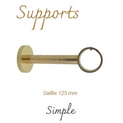 Support Simple Saillie 125...
