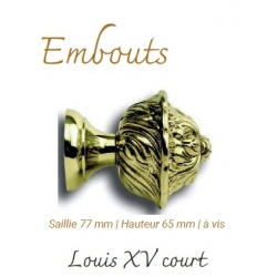 Embout Louis XV Court...