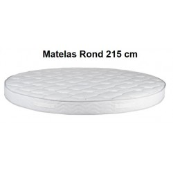 PHOTO MATELAS ROND MOUSSE HR 55 215 CM DIAMETRE
