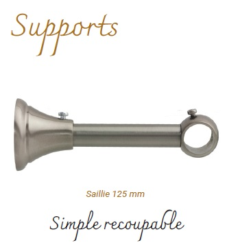 Supports simple et recoupable.