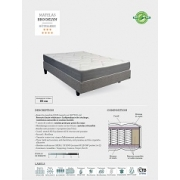 MATELAS BROOKLYN RESSORTS ENSACHES TRADITION LUXE *** & ****