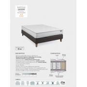 MATELAS QUEENS RESSORTS ENSACHES HOTEL TRADITION ** & ***